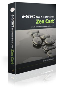 e-Start Your Web Store with Zen Cart - the official book on Zen Cart operations