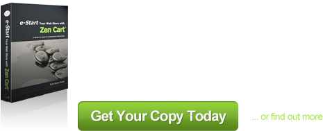 Advertisement for Zen Cart Manual