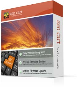 Zen Cart, a shopping cart software solution